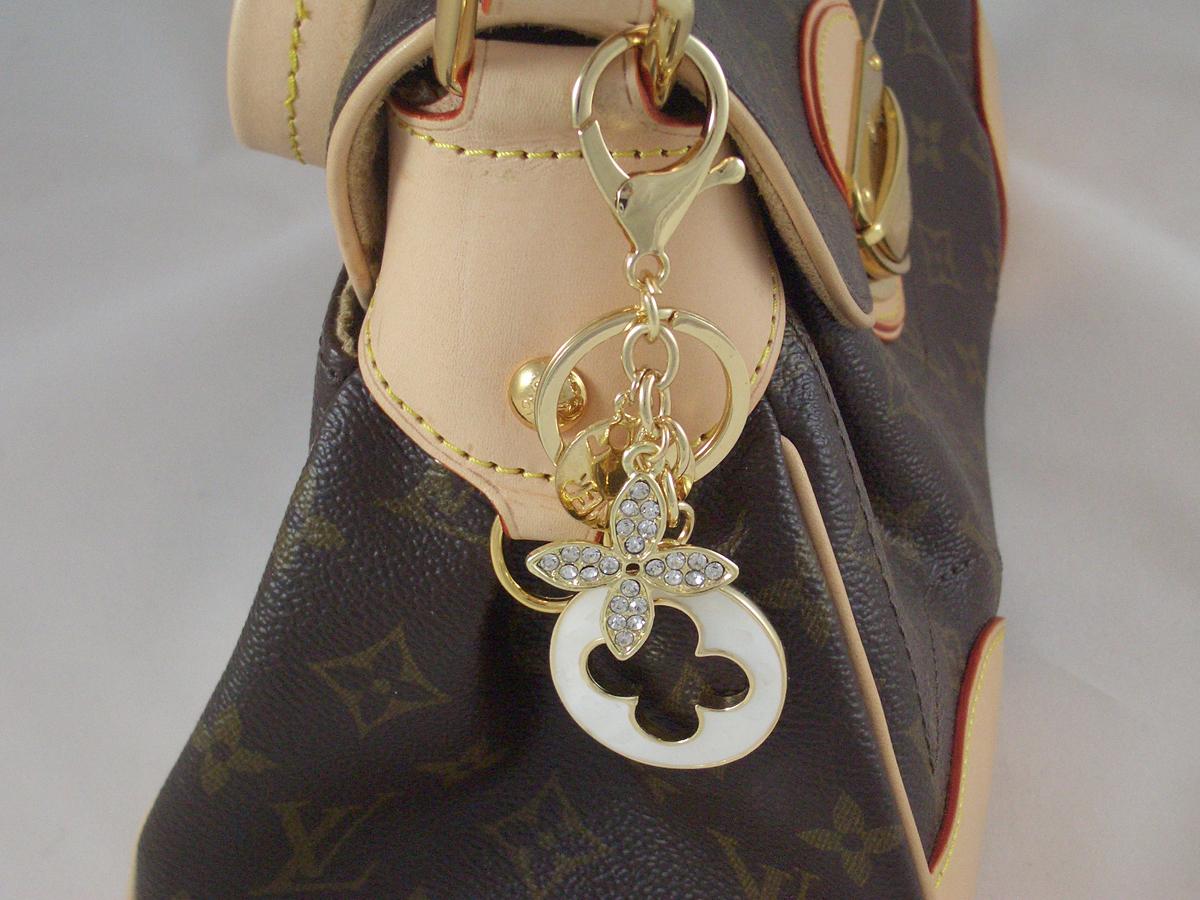 Taschenanhänger gold
